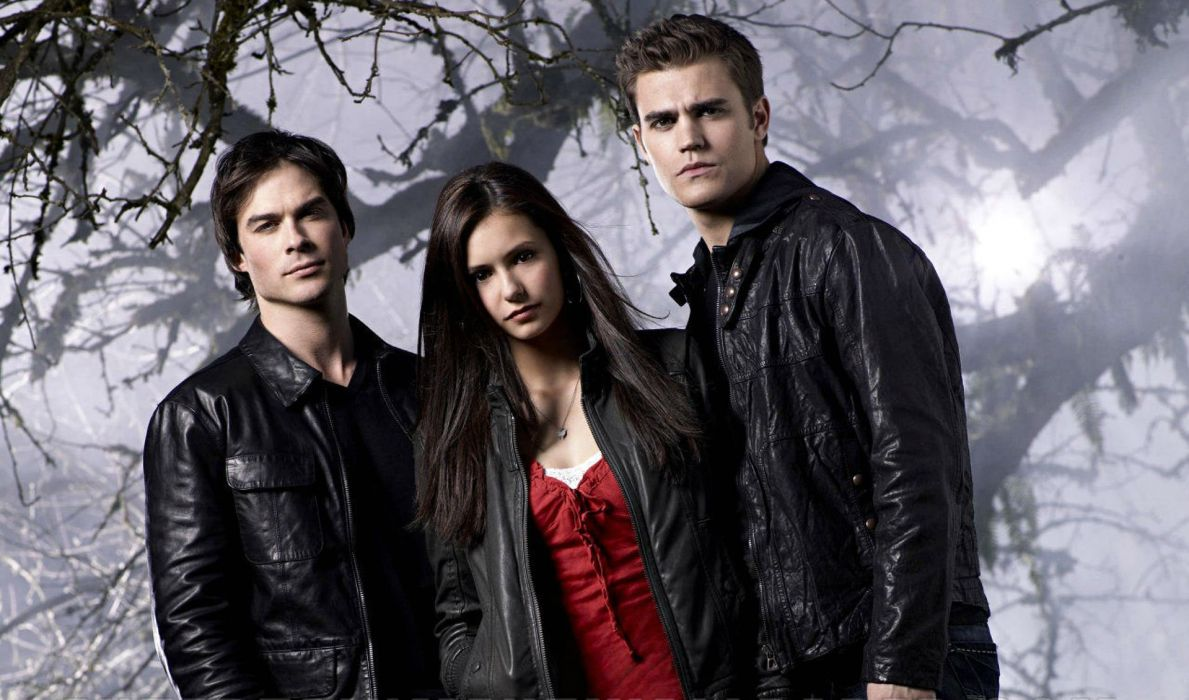 VAMPIRE DIARIES drama fantasy drama horror series romancer wallpaper