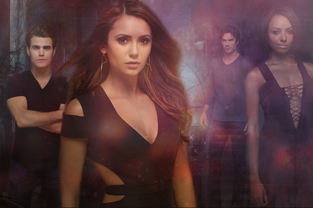 VAMPIRE DIARIES drama fantasy drama horror series romancer wallpaper