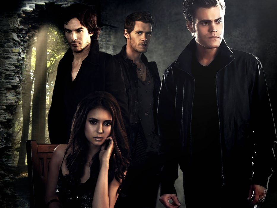 VAMPIRE DIARIES drama fantasy drama horror series romance wallpaper