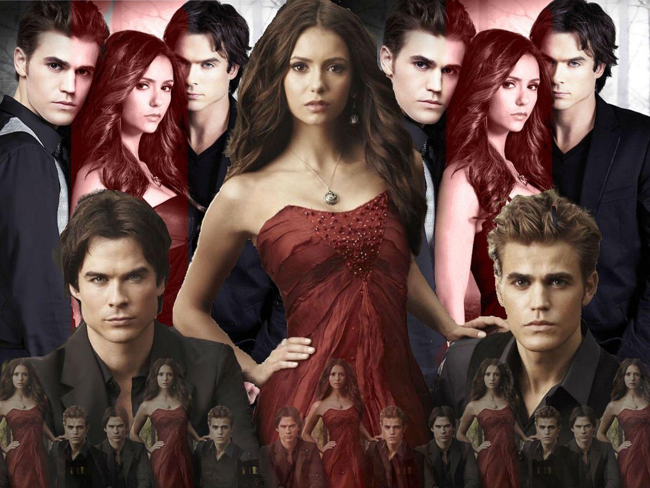 vampire diaries characters - HD1024×768