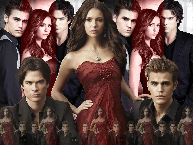 vampire diaries cast - HD1024×768