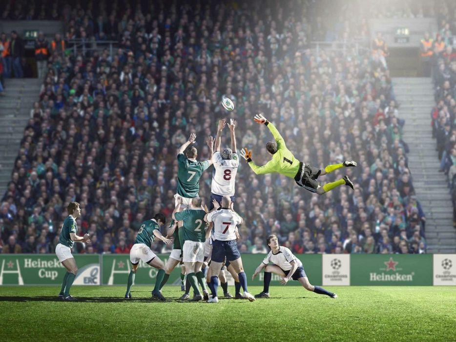 art artwork photoshop manipulation fantasy photo artistic psychedelic soccer wallpaper
