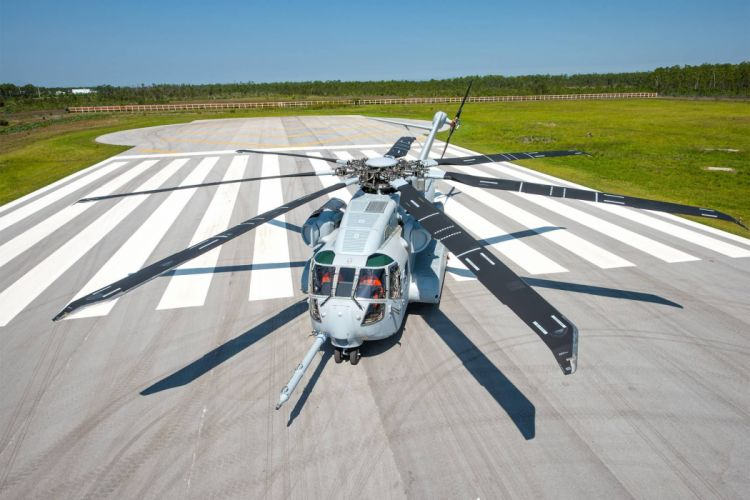 Sikorsky CH-53K helicopter military wallpaper