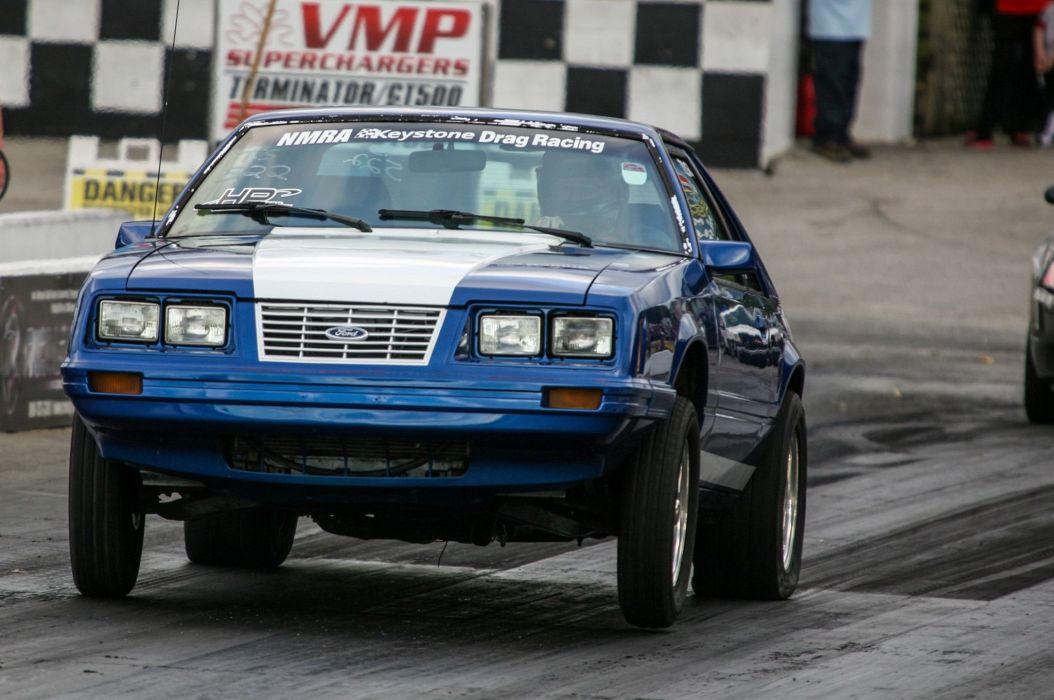 Ford Mustang hot rod rods custom drag race racing wallpaper