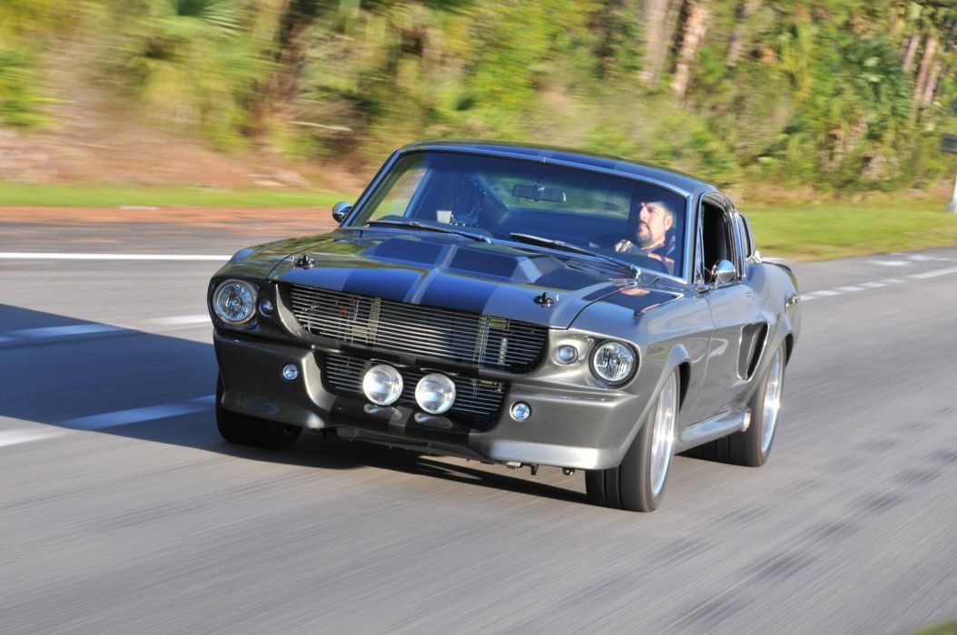 1967 Ford Mustang Fastback muscle classic hot rod rods custom wallpaper