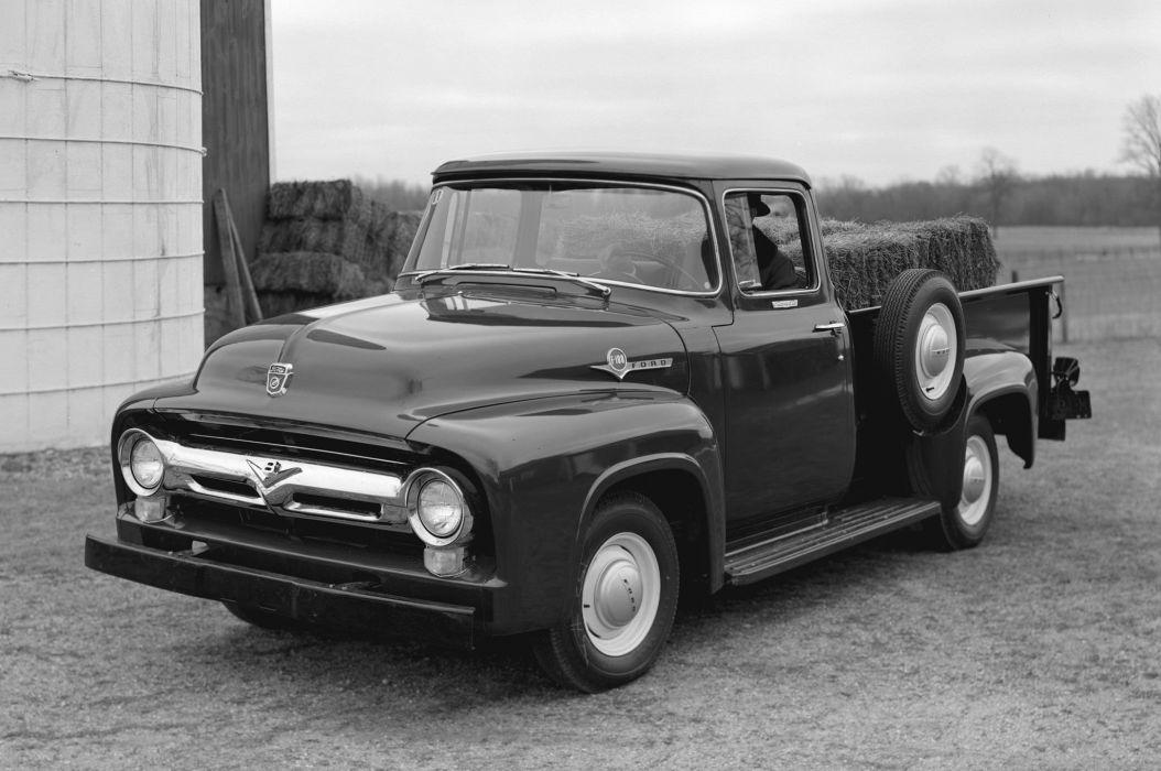 Ford pickup classic retro wallpaper