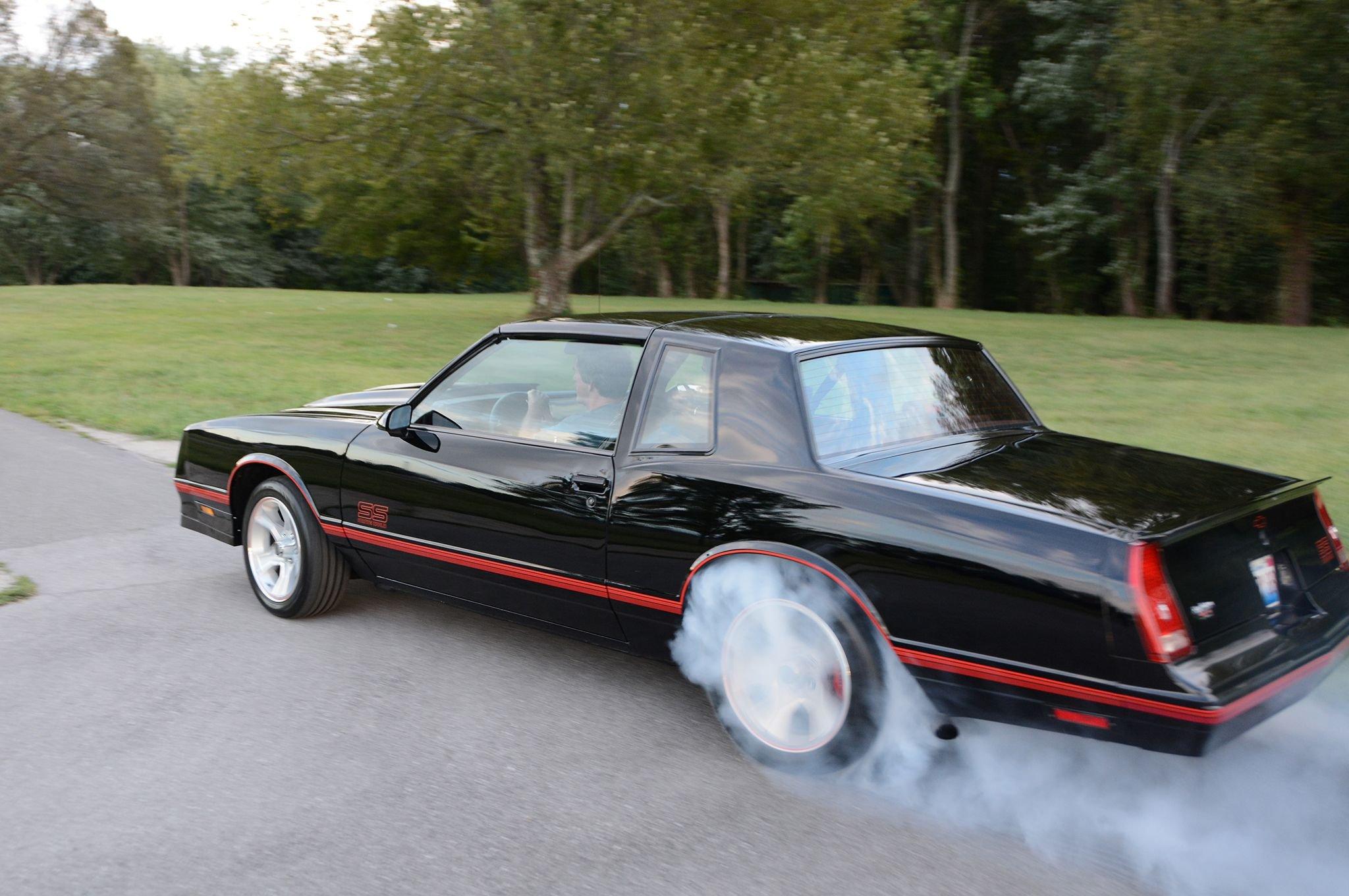 1988 Monte Carlo S S Chevrolet Muscle Wallpaper