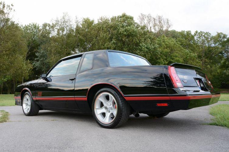 1988 Monte Carlo S-S Chevrolet muscle wallpaper
