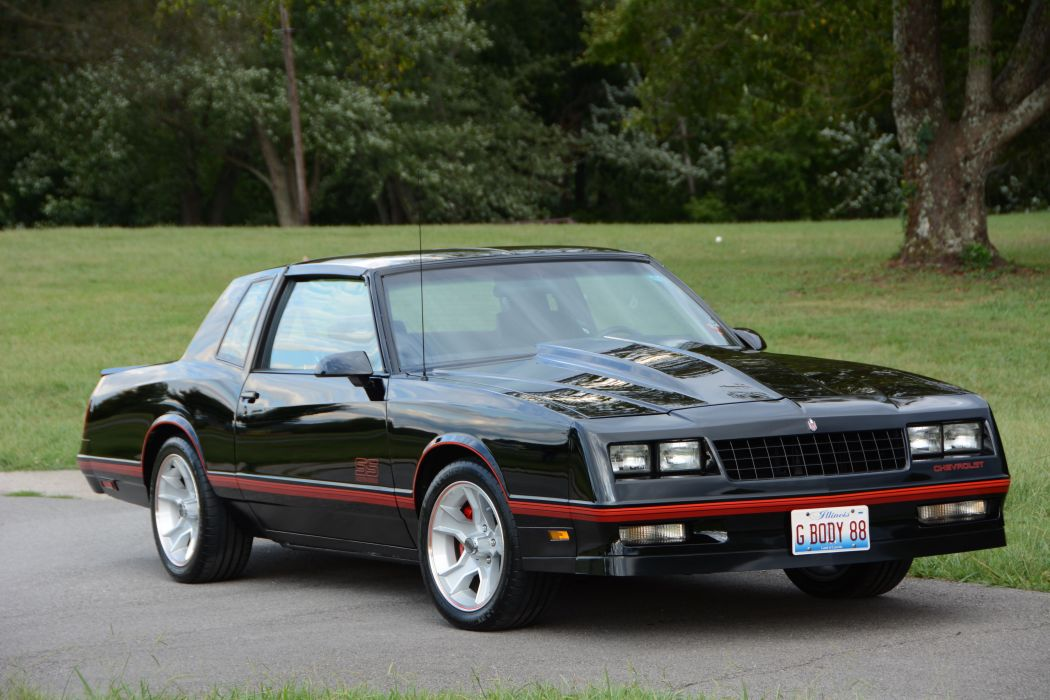 1988 Monte Carlo S-S Chevrolet muscle wallpaper