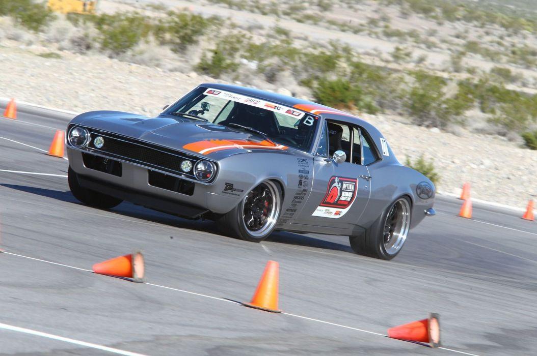 Chevrolet Camaro hot rod rods muscle race racing classic wallpaper
