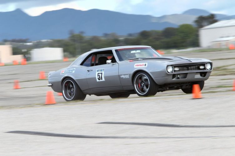 Chevrolet Camaro hot rod rods muscle race racing classic wallpaper