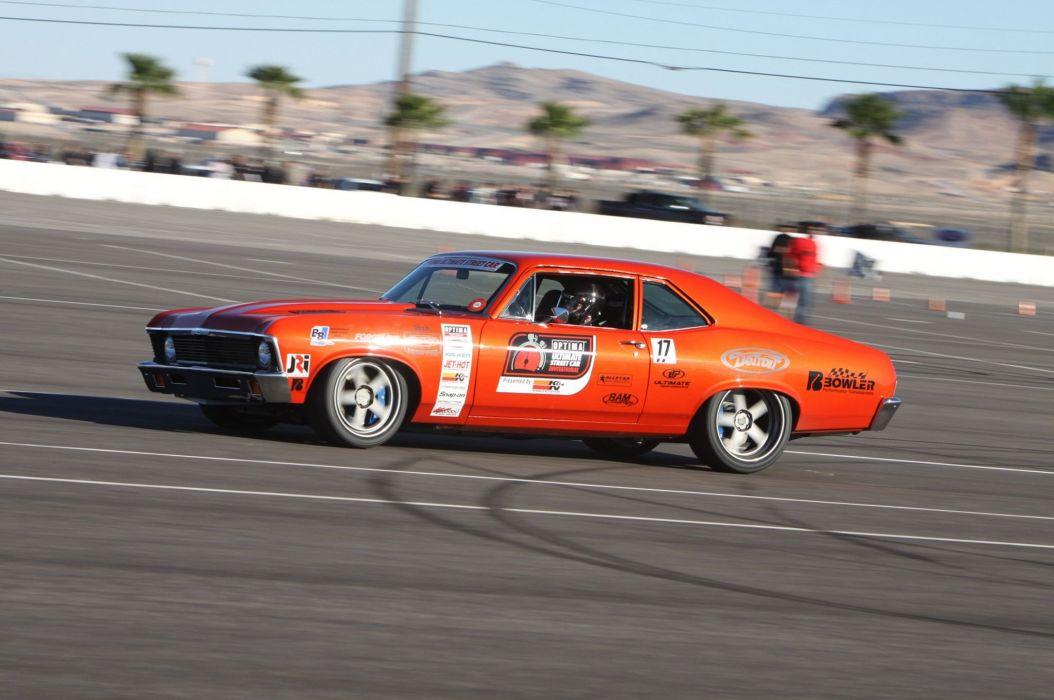 Chevrolet hot rod rods muscle race racing classic nova wallpaper