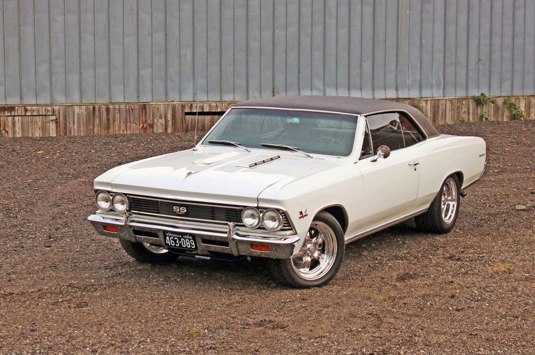 1966 Chevrolet Chevelle S-S muscle classic 427 hot rod rods custom wallpaper