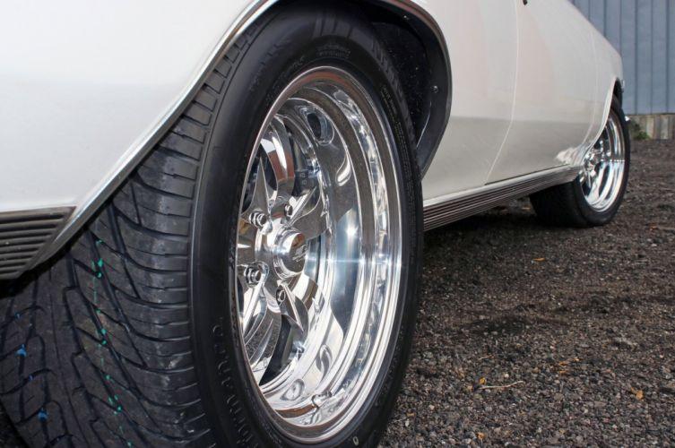 1966 Chevrolet Chevelle S-S muscle classic 427 hot rod rods custom wallpaper