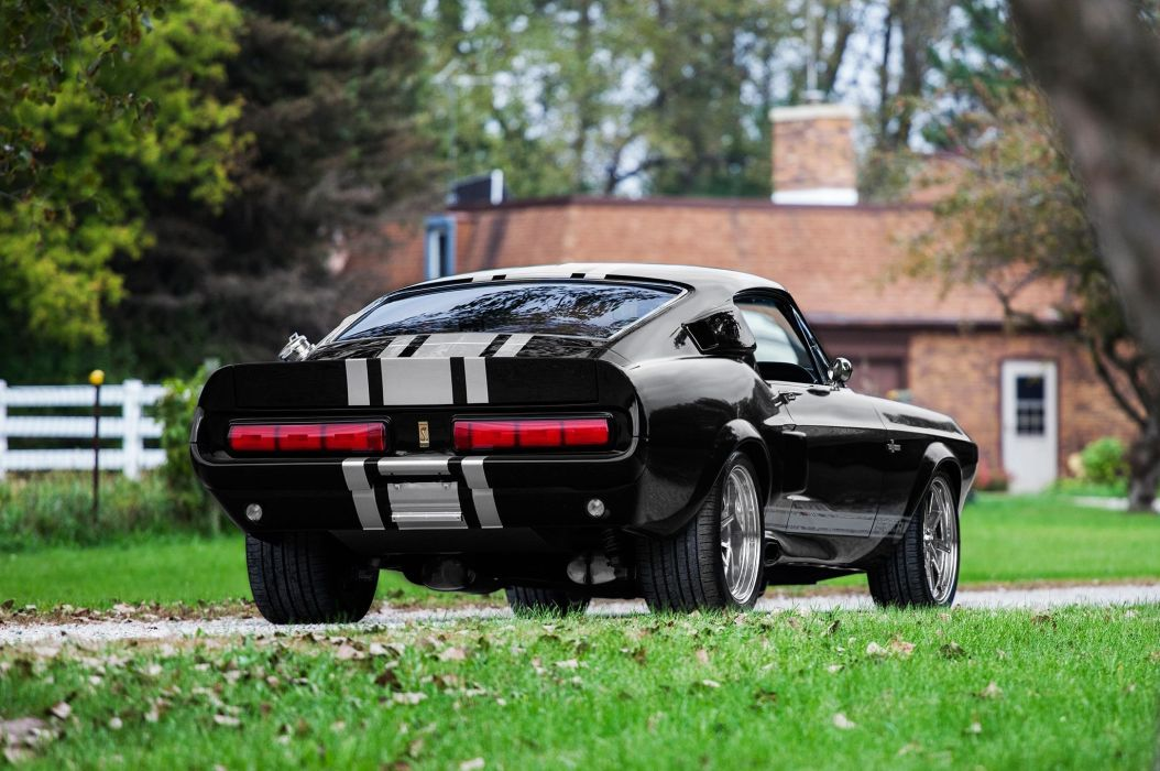 1968 Ford Mustang Shelby GT500CR muscle hot rod rods classic g-t gt500 wallpaper