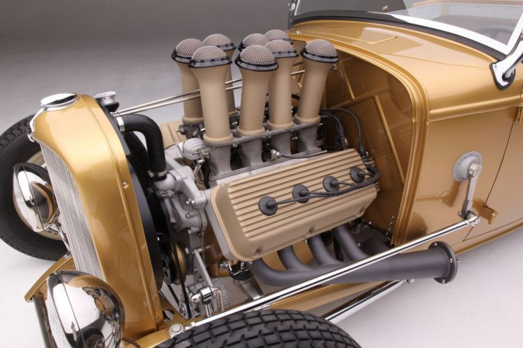 392 Hemi 1932 Ford Roadster hot rod rods custom retro vintage wallpaper