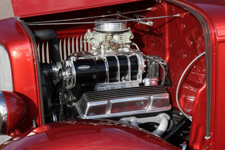 1932 Ford Five-Window Coupe hot rod rods custom retro vintage wallpaper