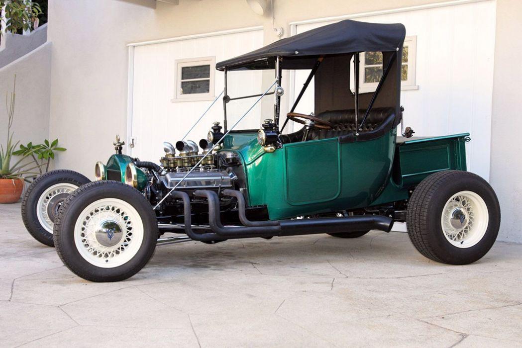 1915 Ford T-bucket model-t hot rod rods custom retro vintage wallpaper
