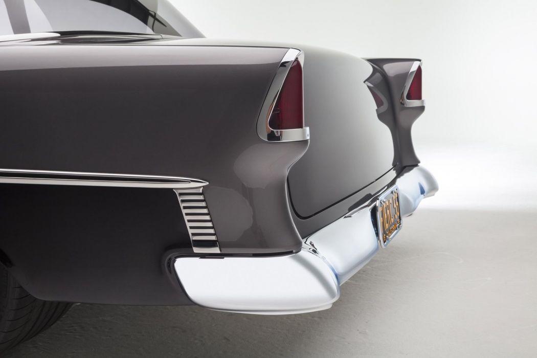 1955 Chevrolet Bel Air hot rod rods custom retro belair wallpaper