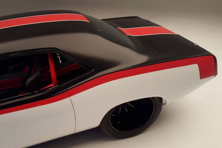 1970 Plymouth Barracuda hot rod rods muscle custom mopar cuda wallpaper