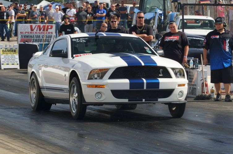 Cobras GT500 Ford Mustang hot rod rods drag race racing muscle wallpaper