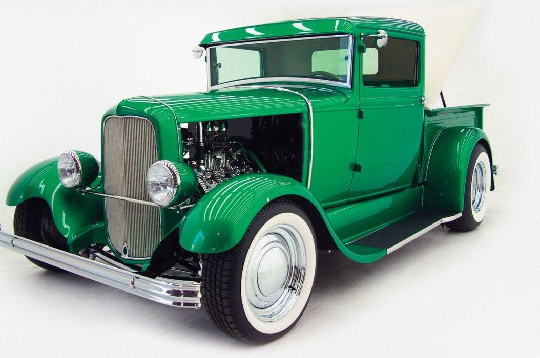 hot rod rods custom retro tuning pickup wallpaper