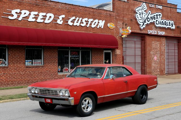 1967 Chevrolet Malibu muscle classic hot rod rods drag race racing wallpaper