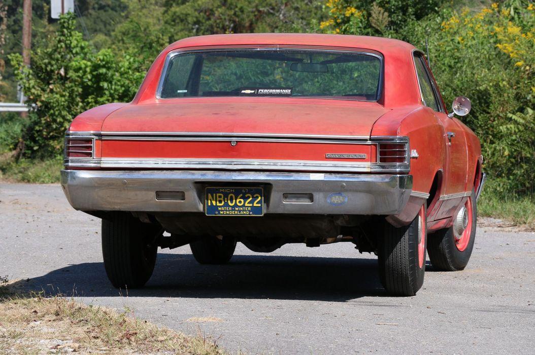1967 Chevrolet Malibu muscle classic wallpaper