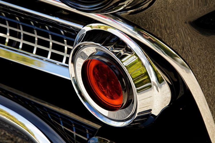 1955 Ford Customline sedan hot rod rods custom retro wallpaper