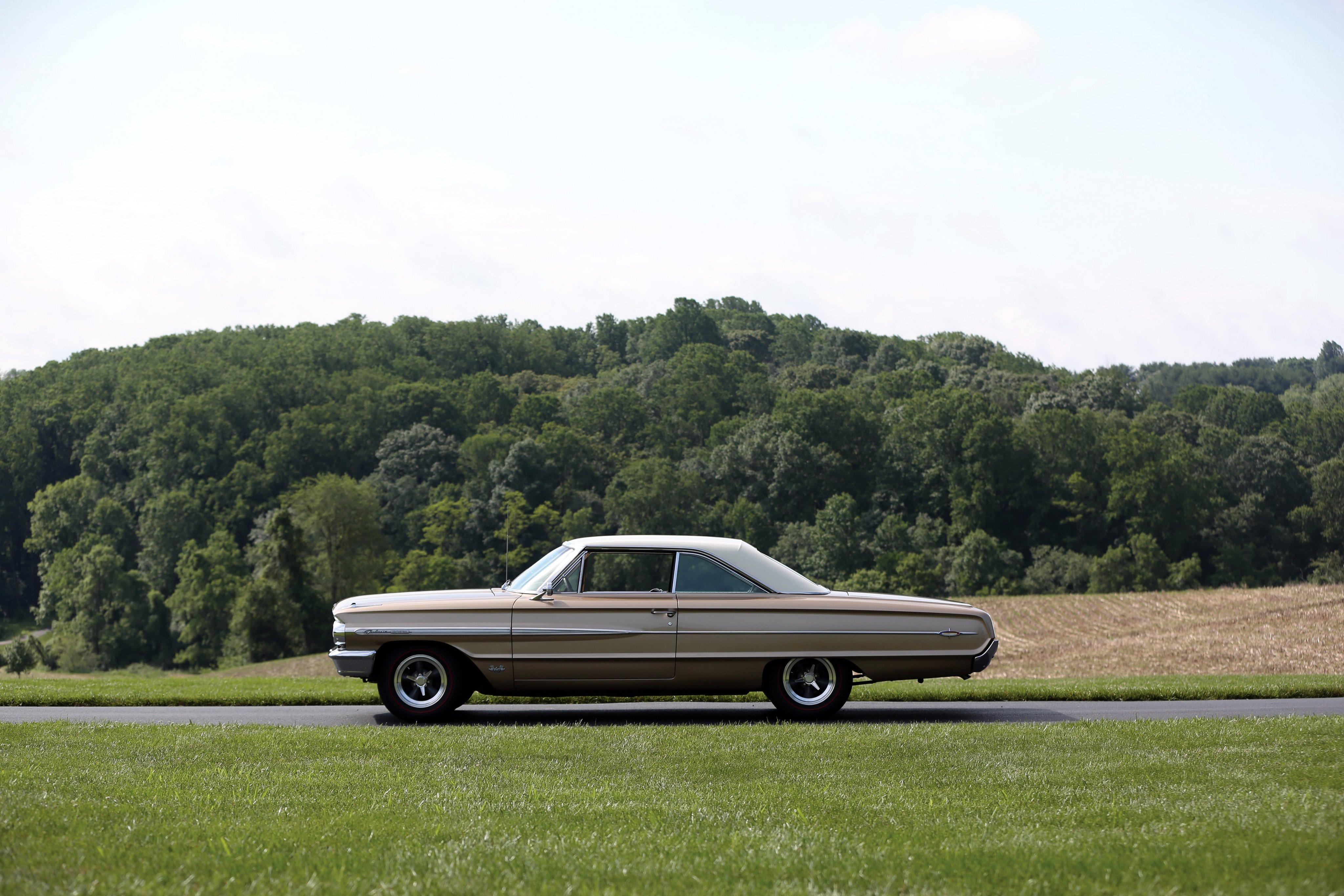 1964 Ford Galaxie 500 X L Club Victoria Luxury Classic Wallpaper Xl 4096x2731 872646 Wallpaperup