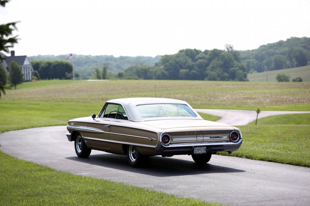 1964 Ford Galaxie 500 X-L Club Victoria luxury classic wallpaper
