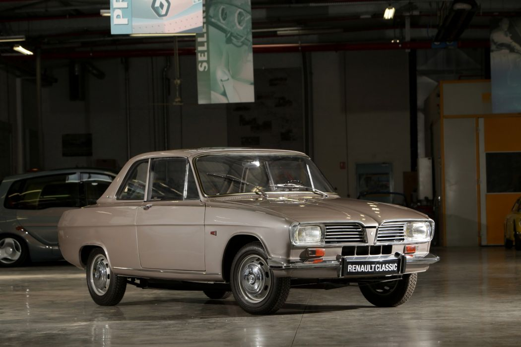 1963 Renault 1-6 Coupe Cabriolet Prototype classic wallpaper