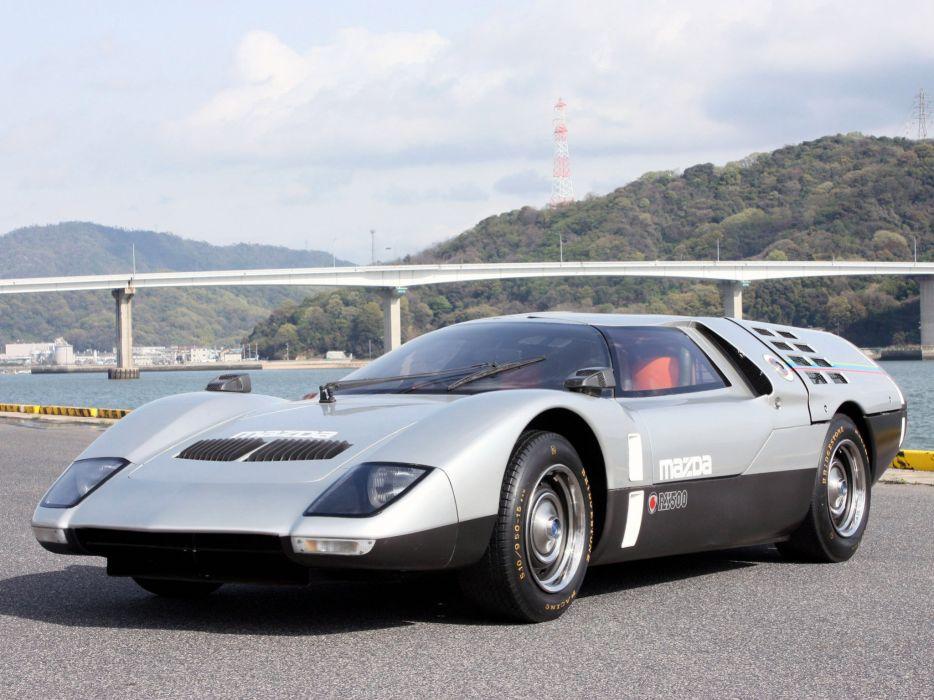 1970 Mazda RX-500 Concept supercar classic wallpaper