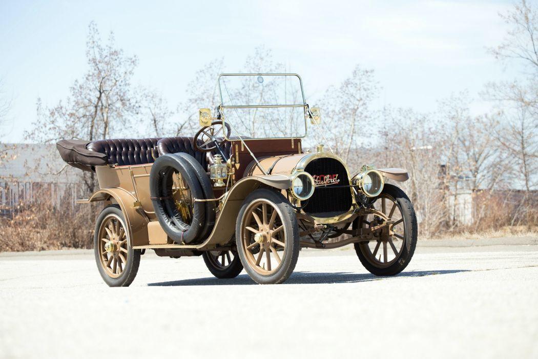 1910 Pope Hartford Model-T 5-passenger Touring luxury vintage wallpaper