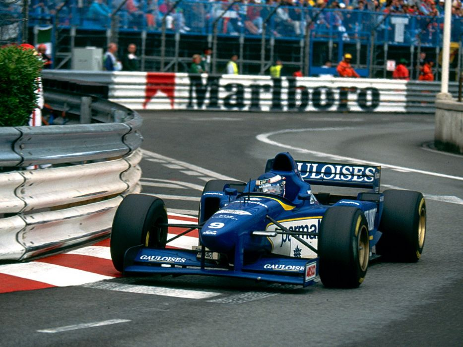 1996 Ligier JS43 F-1 formula race racing wallpaper