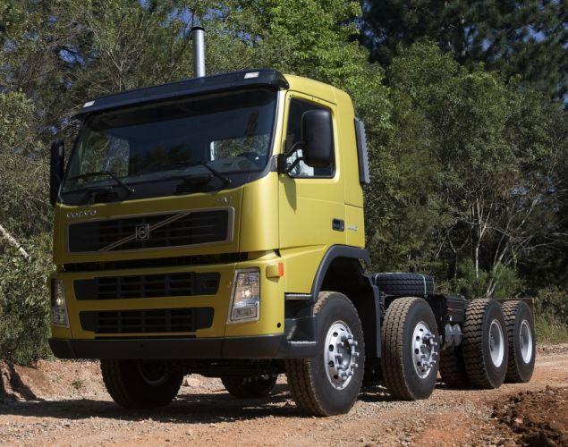 2008 Volvo F-M 440 8x4 semi tractor wallpaper