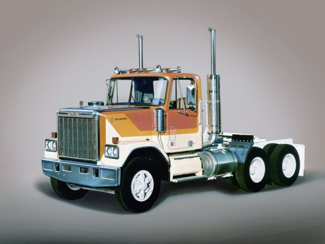 1977-88 GMC General semi tractor wallpaper