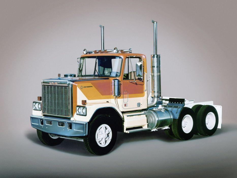 1977-88 GMC General semi tractor wallpaper
