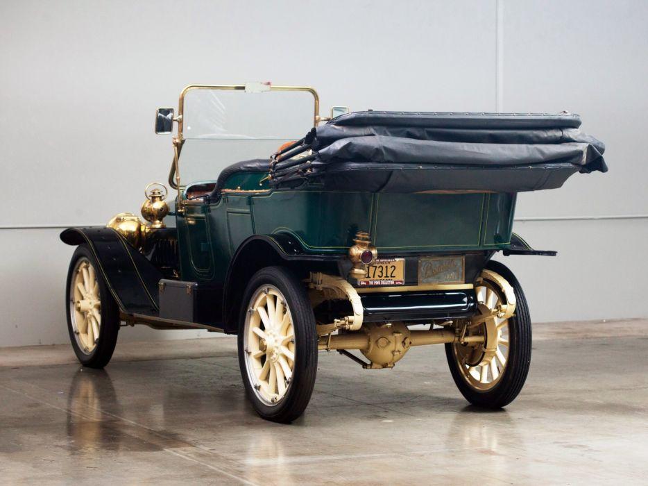 1911 Premier 4-40 5-passenger Touring luxury vintage retro wallpaper