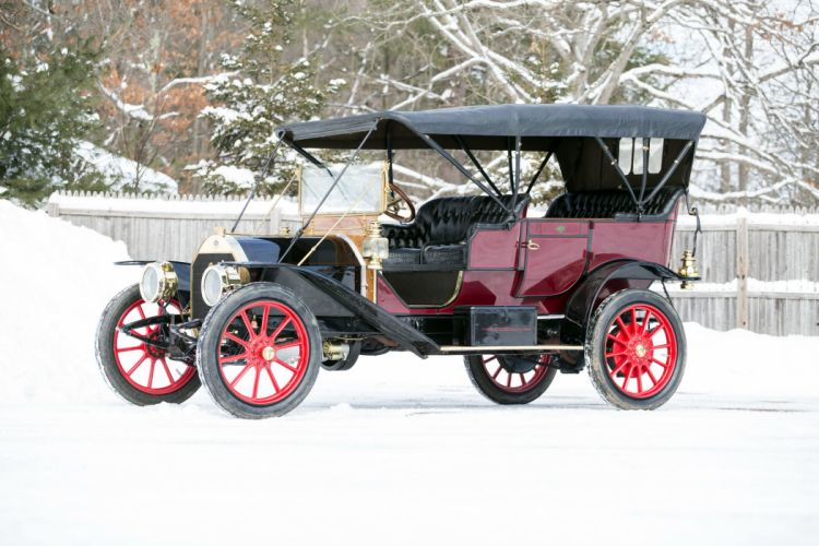 1910 Premier 4-40 5-passenger Touring vintage luxury wallpaper