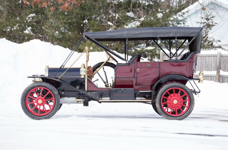 1910 Premier 4-40 5-passenger Touring vintage luxury wallpaper