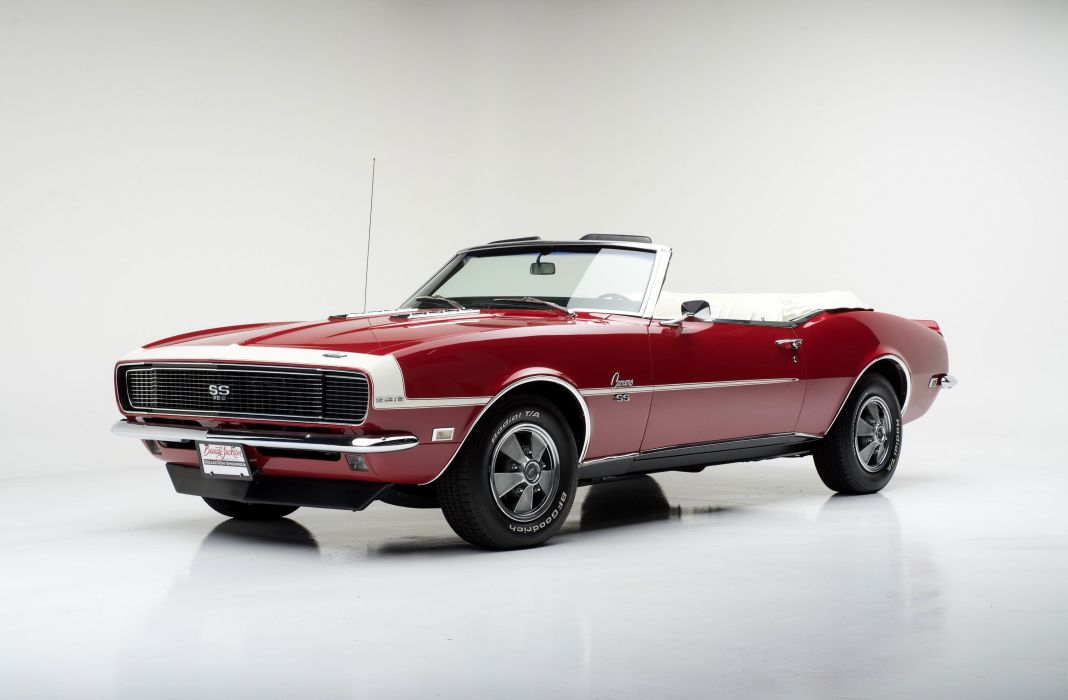 1968 Chevrolet Camaro R-S S-S 396 Convertible 12467 muscle classic wallpaper