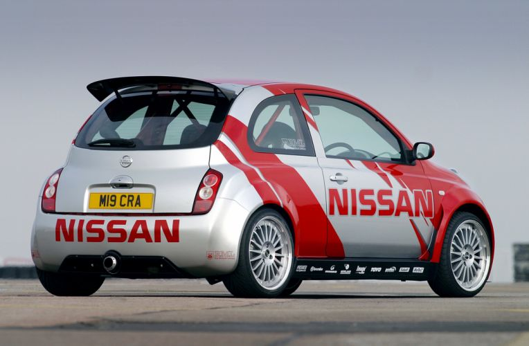 2003 Nissan Micra Sport Concept K12 wallpaper