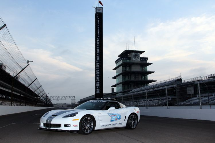 2012 Chevrolet Corvette ZR1 Indy 500 Pace C-6 race racing muscle supercar wallpaper