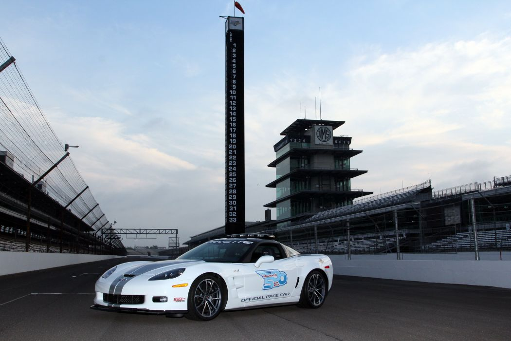 2012 Chevrolet Corvette ZR1 Indy 500 Pace C-6 race racing muscle supercar wallpaper
