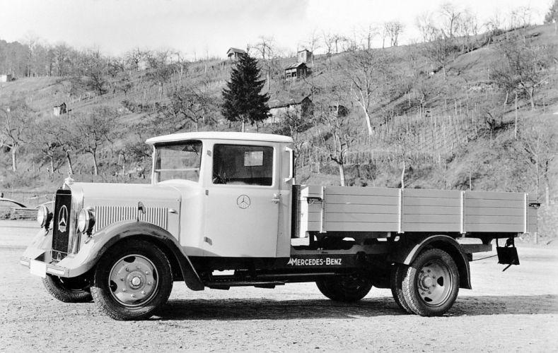 1932 Mercedes Benz Lo2000 Pritschenwagen Prototyp L60 semi tractor pickup vintage transport wallpaper
