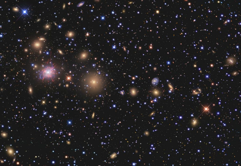 firmamento estrellas espacio wallpaper