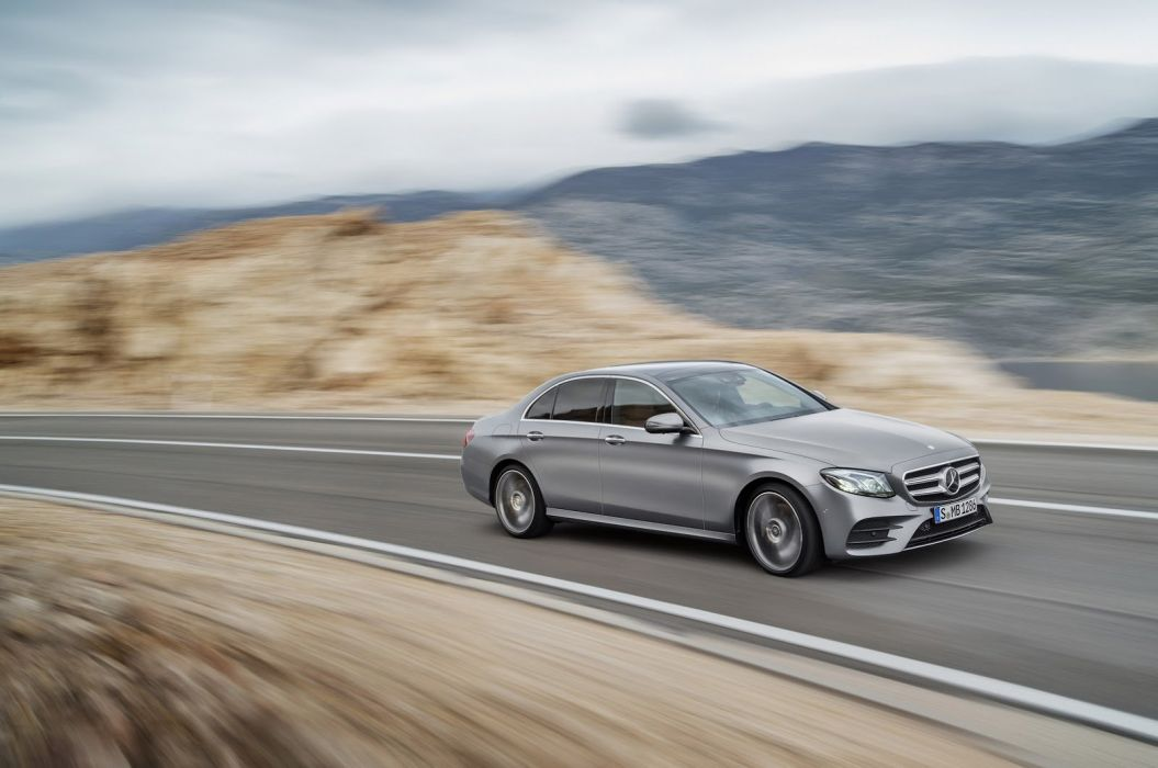 2017 Mercedes Benz E-Class cars sedan wallpaper