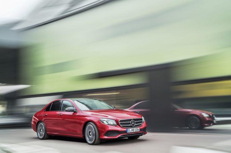 2017 Mercedes Benz E-Class cars sedan wallpaper