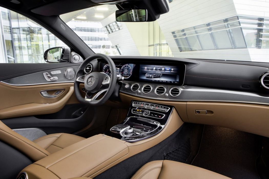 2017 Mercedes Benz E-Class cars sedan interior wallpaper